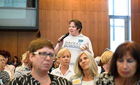 Viele Teilnehmende engagierten sich in den Diskussionen.