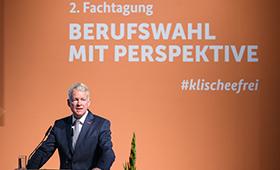 Holger Schwannecke während seiner Begrüßungsansprache