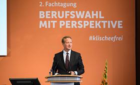 Der Präsident des Deutschen Industrie- und Handelskammertages, Dr. Eric Schweitzer