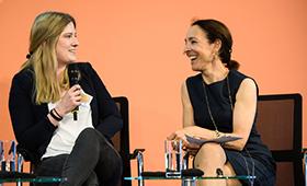 Madita Brauer und Andrea Thilo