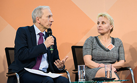 Alexander Gunkel und Bianca Rosenhagen auf der 2. Fachtagung der Initiative Klischeefrei