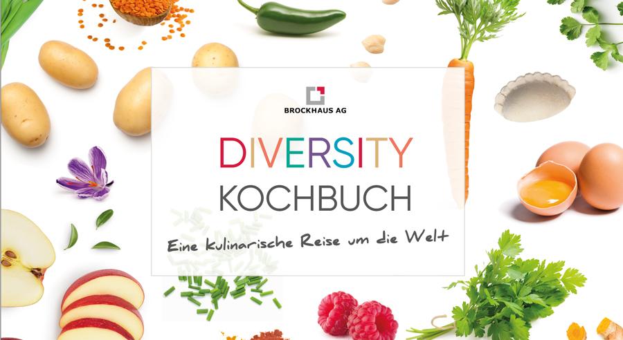 Brockhaus AG: Diversity Kochbuch veröffentlicht