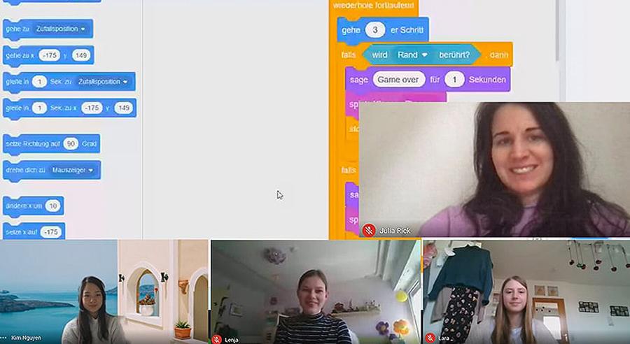IT Girls – BROCKHAUS AG begeistert Mädchen für die Programmierung