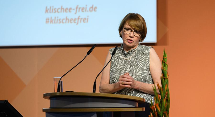Grußwort von Elke Büdenbender, Schirmherrin der Initiative Klischeefrei