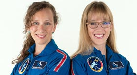 Live auf TikTok: Astronautin Ina Thiele-Eich zum Gender Gap im Weltall