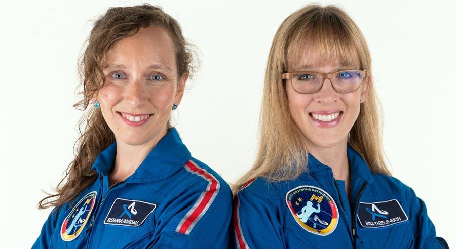 Astronautin werden trotz Gender Gap im Weltall: Livestream mit Astronautin Ina Thiele-Eich