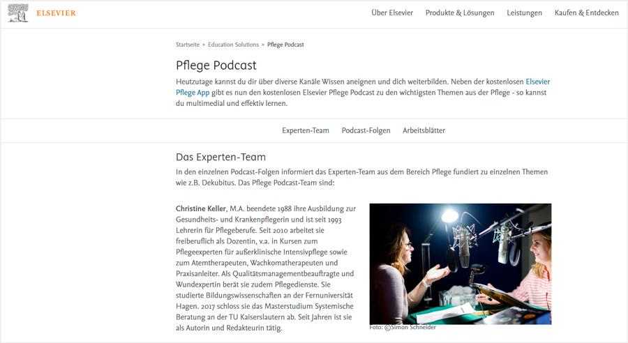 Elsevier-Pflege-Podcast