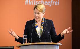 Bundesjugendministerin Dr. Franziska Giffey