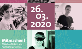 Aufruf zum Girls'Day und Boys'Day 2020