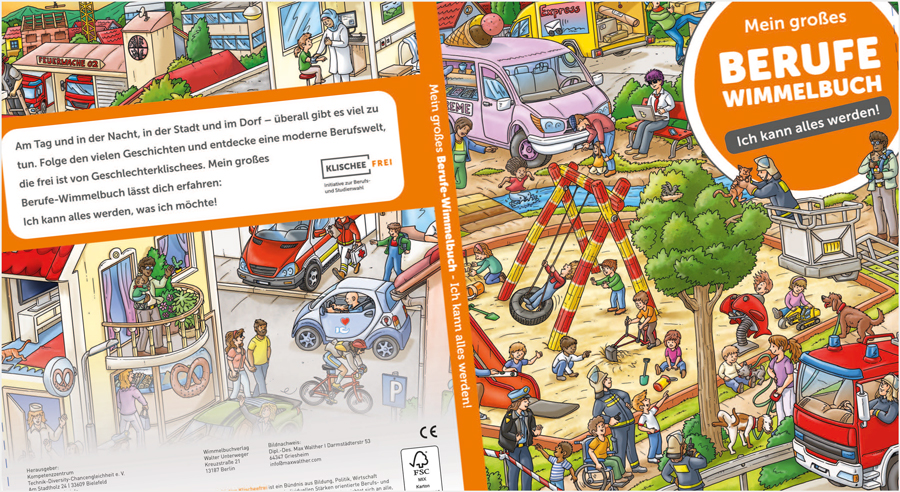 Mein großes Berufe-Wimmelbuch – Ich kann alles werden!