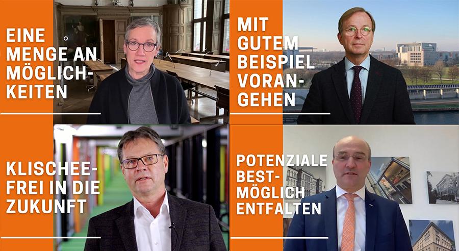 Klischeefrei in die Zukunft: Aachen geht mit gutem Beispiel voran