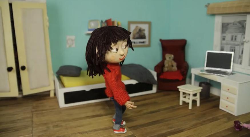 """Einzelbild aus dem Video des Klischeefrei-Songs """"Alles, was du bist, bist du"""""""