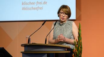 2. Fachtagung der Initiative Klischeefrei: Grußwort Elke Büdenbender