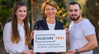 Elke Büdenbender möchte dazu ermutigen, beim Girls'Day und Boys'Day 2018 mitzumachen