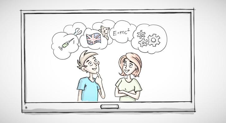 Was hat Berufsorientierung mit Geschlechterklischees zu tun? Das zeigt der Erklärfilm der Initiative Klischeefrei.