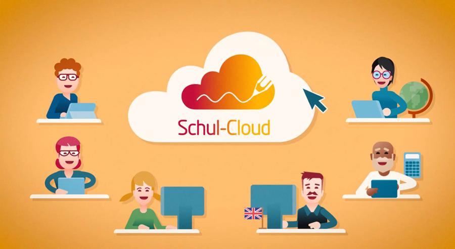 HPI-Schul-Cloud (Erklärposter)