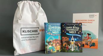 """Jetzt kostenlos bestellen: Methodenset """"Klischeefrei durch die Grundschule"""""""