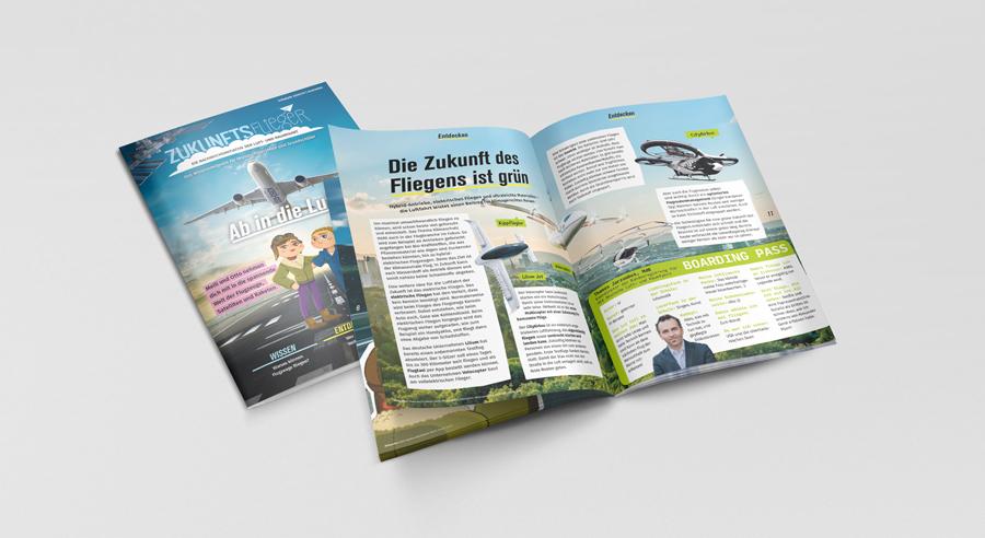 """Neue Ausgabe des Wissensmagazins """"Zukunftsflieger"""""""