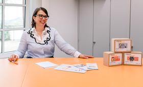 Lilian Knobel, Vorstandsvorsitzende der Wissensfabrik