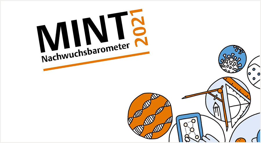 MINT-Nachwuchsbarometer 2021 fordert klischeefreie MINT-Bildung bei Lehrkräften