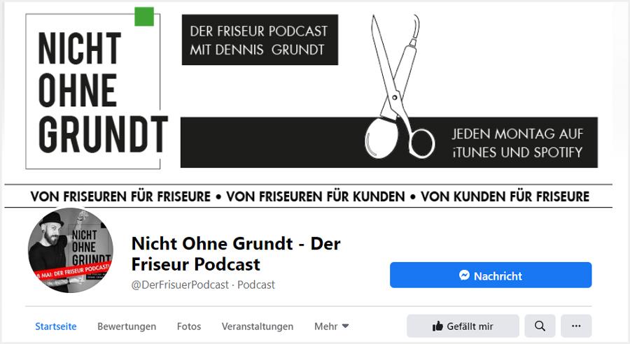 NICHT OHNE GRUNDT – Der Friseur-Podcast