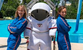Stiftung Erste deutsche Astronautin: Insa Thiele-Eich und Suzanna Randall