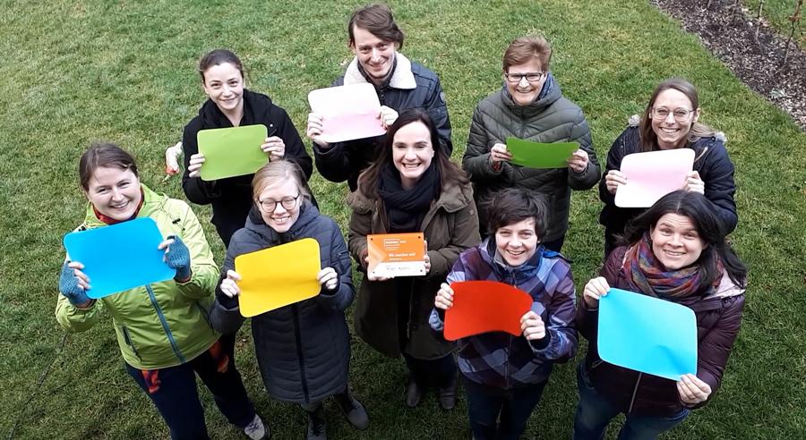 Initiative junge Forscherinnen und Forscher: Für uns bedeutet Klischeefrei, dass …