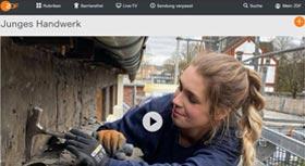 ZDF stellt junge Menschen mit Liebe zum Handwerk vor