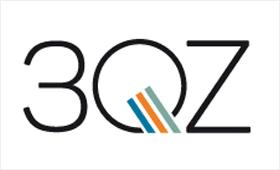 Logo 3QZ, Agentur für Querschnittziele im Europäischen Sozialfonds (ESF)