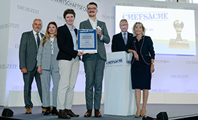 Chefsache-Award 2017: 3. Platz für Kompetenzzentrum Technik-Diversity-Chancengleichheit e.V.