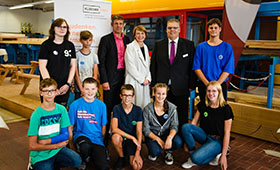 Elke Büdenbender besucht Berufsbildungszentrum Euskirchen