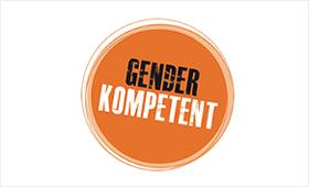 Wort-Bild-Marke des Projekts GenderKompetent NRW