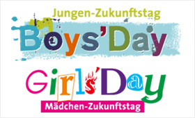 Logo Boys'Day und Logo Girls'Day