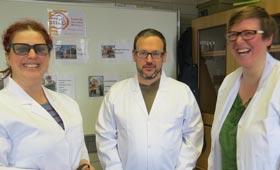 Petra Lich, Florian Ball, Gisa Stich (Institut für innovative Bildung, IfiB, v.l.n.r.)