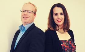 Urs Dudzus und Sandra Thomalla, Werner-von-Siemens-Gymnasium Berlin