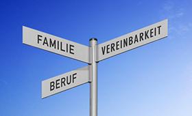 Motiv:Wegweiser: Familie - Beruf - Vereinbarkeit