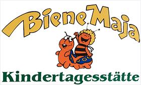 """Logo der Kindertagesstätte """"Biene Maja"""" Stralsund"""