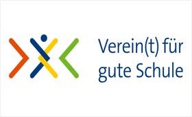 """Logo Förderpreis """"Verein(t) für gute Kita und Schule"""""""