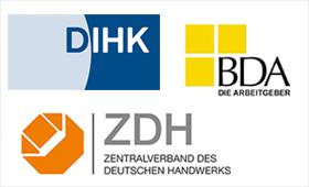 BDA, DIHK und ZDH treten Initiative Klischeefrei bei