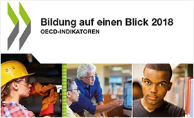 """Cover der Publikation """"Bildung auf einen Blick 2018: OECD-Indikatoren"""""""