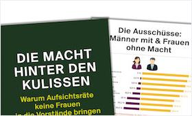 """Cover der Publikation """"Die Macht hinter den Kulissen"""""""