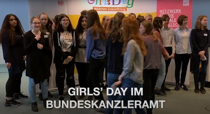 Girls'Day 2019 im Bundeskanzleramt
