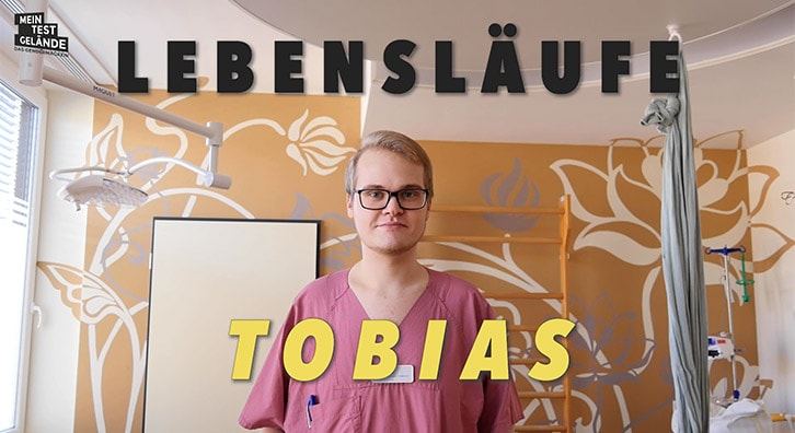 Geburtshelfer: Tobias über seinen Beruf